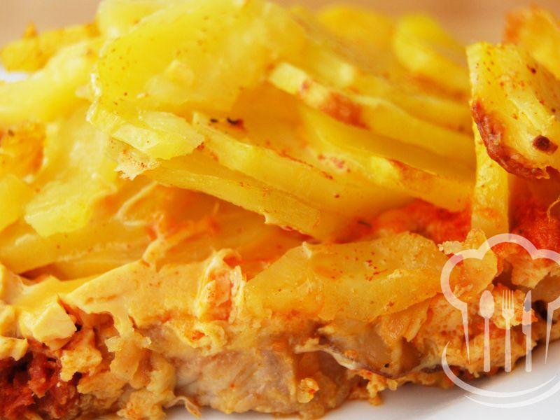 Rezne - zapekané so zemiakmi