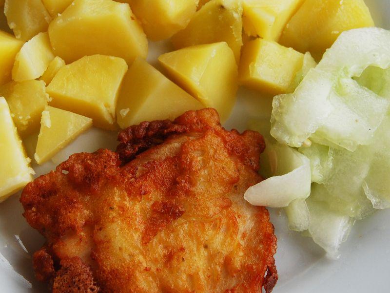 Kuracie prsia - v zemiakovom cestíčku