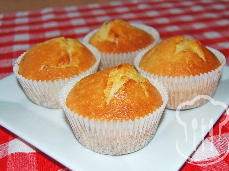 Muffiny - s kyslou smotanou