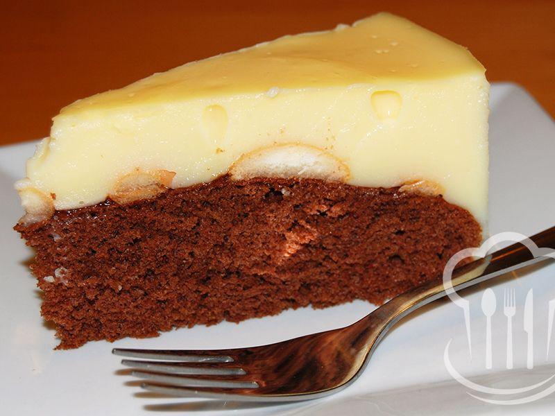 Torta - pudingová