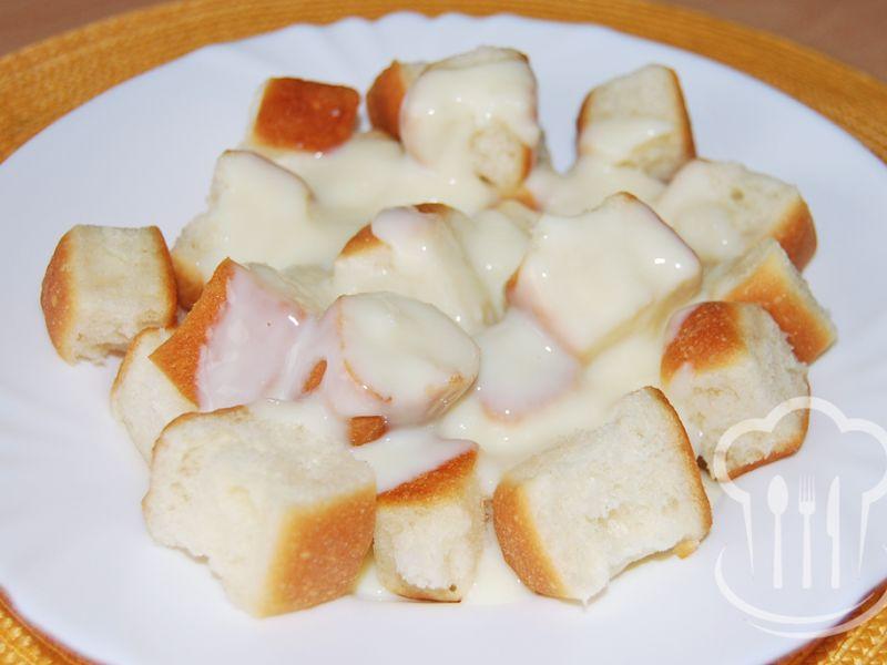Buchtičky - dukátové s vanilkovým krémom